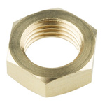 Norgren G 1/4 Brass Bulkhead Locknut