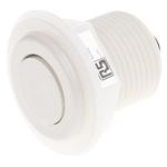 RS PRO White Air Switch Bellows, Dia. 50mm, L.42.5mm