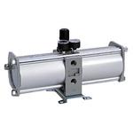 SMCVBA Pneumatic Booster Regulator, G 1/2