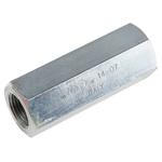 Parker Steel Hydraulic Check Valve 2302, G 3/8, 30L/min, 0.35bar Cracking Pressure
