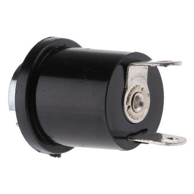 BA9 Panel Mount Indicator Bulb Holder, 14.5mm Panel Hole Diameter