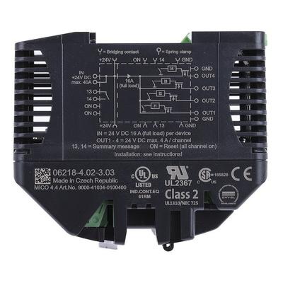Murrelektronik Limited 1 → 4 A Motor Protection Circuit Breaker
