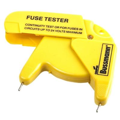Eaton Bussmann Series 24V Fuse Tester for Automotive, Ferrule, Glass Fuses