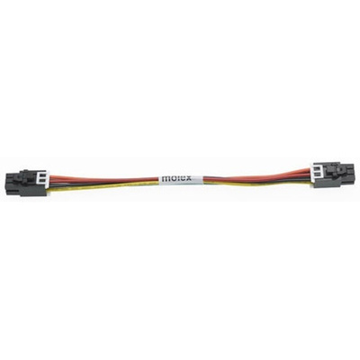 Molex 45133 Series Number Wire to Board Cable Assembly 2 Row, 6 Way 2 Row 6 Way, 1m