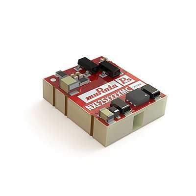 Murata Power Solutions NXE2 2W Isolated DC-DC Converter Surface Mount, Voltage in 10.8 → 13.2 V dc, Voltage out
