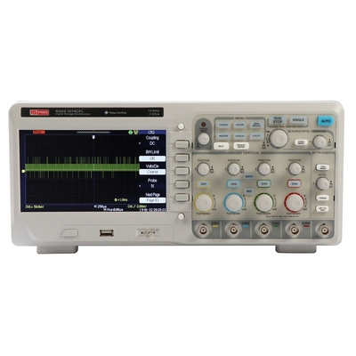 RS PRO RSDS1074CFL Bench Digital Storage Oscilloscope, 70MHz, 4 Channels
