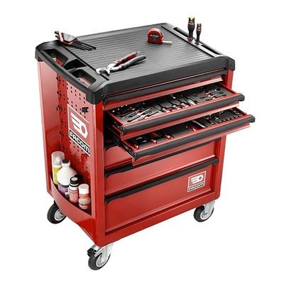 Facom 6 drawer Steel WheeledTool Chest, 970mm x 515mm x 748mm