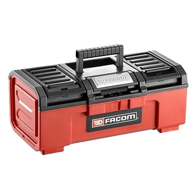 Facom One Touch Plastic Tool Box, 603 x 260 x 273mm