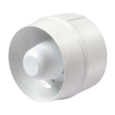 Cranford Controls VPR White 4 Tone Electronic Sounder ,20 → 35 V dc, IP33C