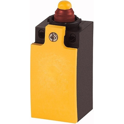 Eaton, Snap Action Limit Switch - Cold Climate Insulated Plastic, 2NO, Plunger, 415V, IP65