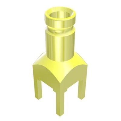 Samtec 75Ω Straight PCB Mount 1.0/2.3 Connector, jack