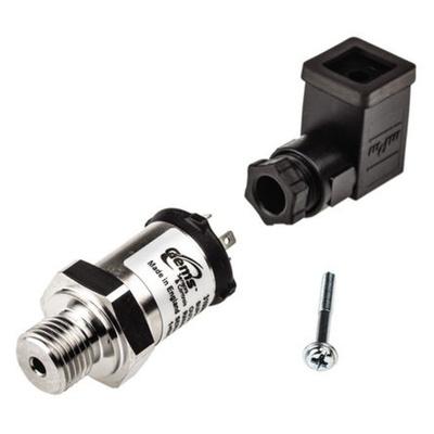 Gems Sensors Pressure Sensor, 10bar Max Pressure Reading Analogue-RSCAL