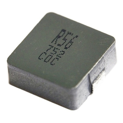 RS PRO Shielded Wire-wound SMD Inductor with a Ferrite Core, 10 μH ±20% Moulded 10A Idc