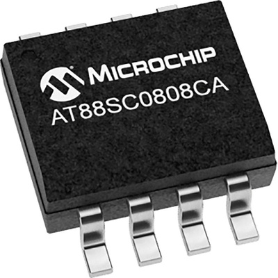 Microchip AT88SC0808CA-SH-T 2 kB, 8 kB 8-Pin Crypto Authentication IC SOIC