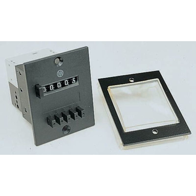 Baumer FS314, 5 Digit, Mechanical, Counter, 60Hz, 230 V ac