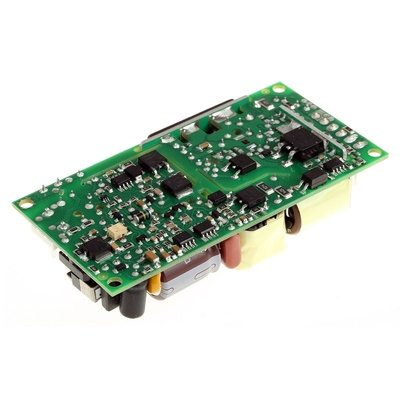 EOS, 60W Embedded Switch Mode Power Supply SMPS, 5.2 V dc, 12.5 V dc, Open Frame