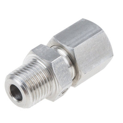 RS PRO Thermocouple Compression Fitting for use with Thermocouple With 4.5mm Probe Diameter, 1/8 NPT