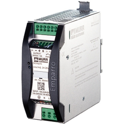 Murrelektronik Limited EMPARRO Switch Mode DIN Rail Power Supply with Efficient, Reliable, Rugged 230V ac Input