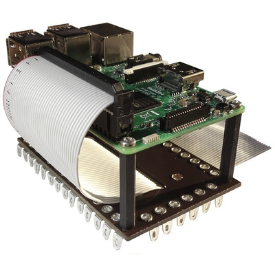 RS PRO Solder Tag Board with 40 Contacts for Raspberry Pi