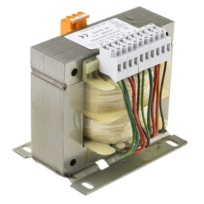 RS PRO 500VA Isolation Transformer, 0 → 230 → 400V ac Primary, 4 x 0-55-60V ac Secondary