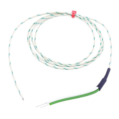 RS PRO Type K Thermocouple 1m Length, 1/0.508mm Diameter → +350°C