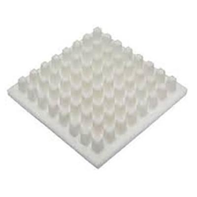 Heatsink, Universal Square Ceramic, 13.2 °C/W @ 400 lfm, 22.4 °C/W @ 100 lfm, 43 x 43 x 6mm, Adhesive, Screw