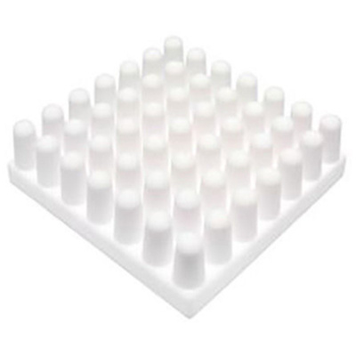 Heatsink, Universal Square Ceramic, 12.7 °C/W @ 400 lfm, 24.0 °C/W @ 100 lfm, 23 x 23 x 10mm, Adhesive, Screw