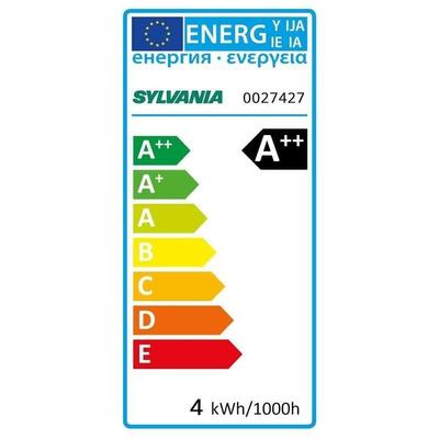 Sylvania GU10 LED Reflector Bulb 3.5 W(36W) 3000K, Warm White