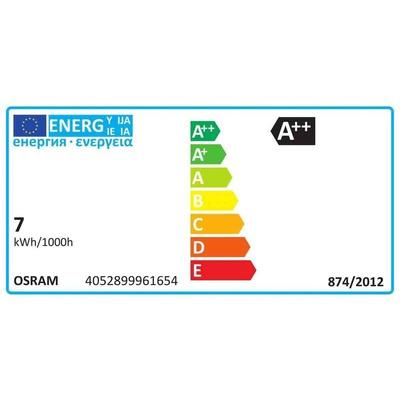 LEDVANCE E27 LED GLS Bulb 6 W(95W), 2700K, Warm White, GLS shape