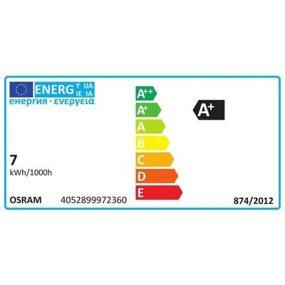 Osram E27 LED GLS Bulb 7 W(54W), 2700K, Warm White, ST64 shape