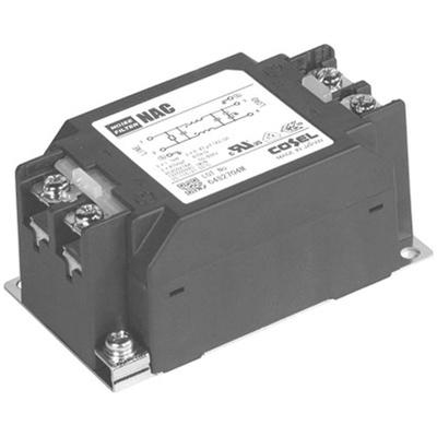Cosel, NAC 6A 250 V ac/dc 150 kHz → 1 MHz, Panel Mount RFI Filter, Screw, Single Phase