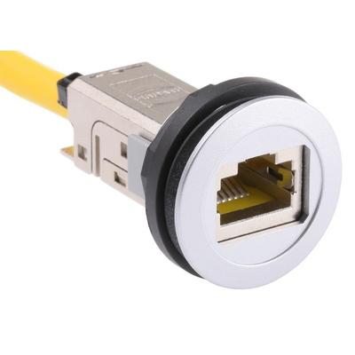 Harting Cat6 RJ45 Plug/RJ45 Socket Coupler