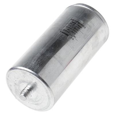 KEMET 80μF Polypropylene Capacitor PP 330 V ac, 600 V dc ±5% Tolerance Screw Mount C44A Series