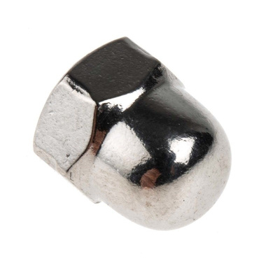 RS PRO Stainless Steel Hex Nut, Plain, M8