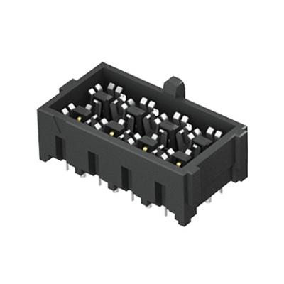 Samtec, IJ5 4mm Pitch 4 Way 2 Row Straight PCB Socket, Through Hole, Solder Termination