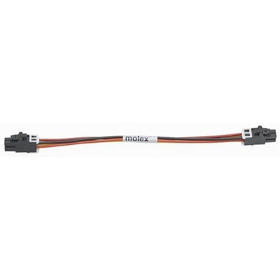 Molex 45133 Series Number Wire to Board Cable Assembly 2 Row, 4 Way 2 Row 4 Way, 150mm