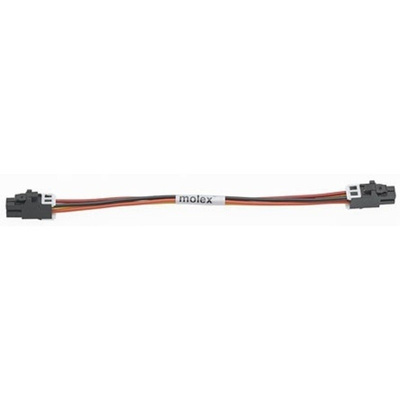 Molex 45133 Series Number Wire to Board Cable Assembly 2 Row, 4 Way 2 Row 4 Way, 1m