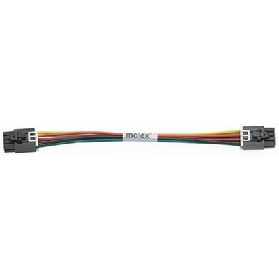 Molex 45133 Series Number Wire to Board Cable Assembly 2 Row, 8 Way 2 Row 8 Way, 1m