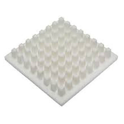 Heatsink, Universal Square Ceramic, 15.7 °C/W @ 400 lfm, 26.7 °C/W @ 100 lfm, 30.5 x 30.5 x 6mm, Adhesive, Screw