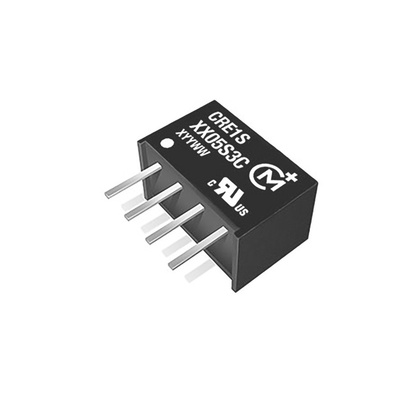 Murata Power Solutions CRE1 1W Isolated DC-DC Converter Through Hole, Voltage in 2.97 → 3.63 V dc, Voltage out