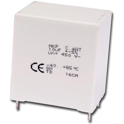KEMET 9μF Polypropylene Capacitor PP 350 V ac, 600 V dc ±5% Tolerance Through Hole C4AT Series