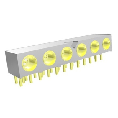 Samtec 50Ω Right Angle PCB Mount MMCX Connector, jack, RG316