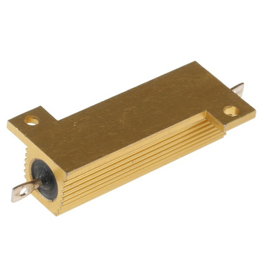 Arcol HS50 Series Aluminium Housed Axial Wire Wound Panel Mount Resistor, 22kΩ ±5% 50W