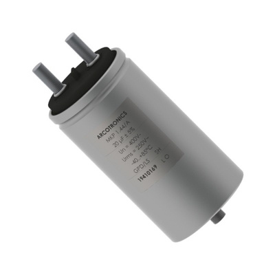 KEMET 40μF Polypropylene Capacitor PP 330 V ac, 600 V dc ±5% Tolerance Screw Mount C44A Series