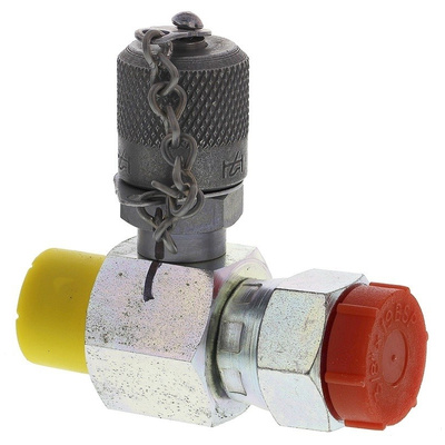 Hydrotechnik Inline Hydraulic Test Point G 3/8 Male and G 3/8 Female, SNA02