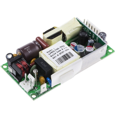 EOS, 40W Embedded Switch Mode Power Supply SMPS, 5 V dc, ±12 V dc, Open Frame, Medical Approved