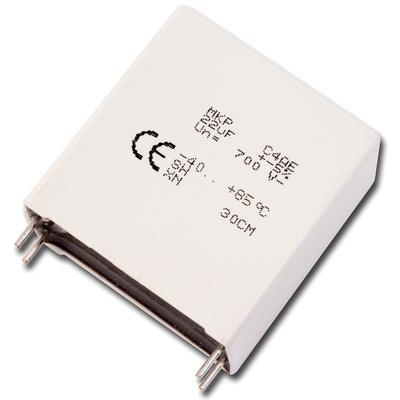 KEMET 22μF Polypropylene Capacitor PP 500V dc ±5% Tolerance Through Hole C4AE Series