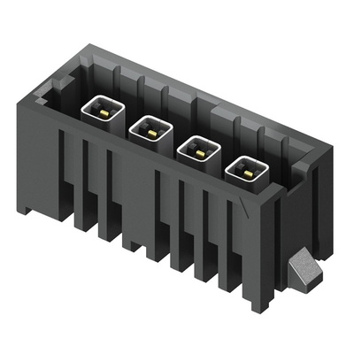 Samtec, IsoRate IP5, 1 Way, 1 Row, Straight PCB Header