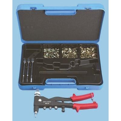Böllhoff 209 Piece Plain Steel Insert Kit 23511900501, M3, M4, M5, M6