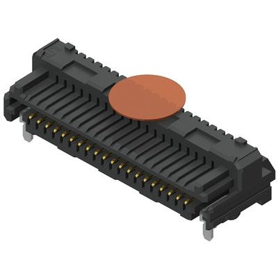 Samtec, Razor Beam LSEM, 100 Way, 2 Row, Right Angle PCB Header